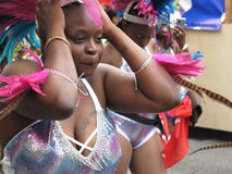 Dancer in Caribbean Parade Royalty Free Stock Photos
