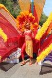 Dancer at Cariwest festival Stock Images