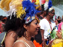 Dancer In Cariwest Parade Edmonton 2013 Royalty Free Stock Photos