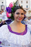 Dancer from Colombia in traditional costume 5 Stock Photography