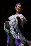 Dancer from Colombia in traditional costume 3 Royalty Free Stock Photography