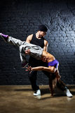 Dancer couple Royalty Free Stock Photography
