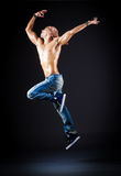 Dancer dancing Royalty Free Stock Images