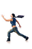 Dancer dancing Royalty Free Stock Photography