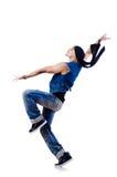 Dancer dancing Stock Images