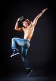 Dancer dancing Royalty Free Stock Image