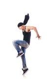 Dancer dancing Stock Image