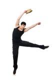 Dancer dancing dances isolated Stock Photos