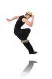 Dancer dancing dances isolated Stock Photo