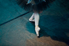 Dancer feet Royalty Free Stock Photo