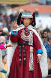 Dancer on Festival of Ladakh Heritage Royalty Free Stock Images