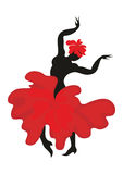The dancer flamenco Royalty Free Stock Photography