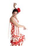 Flamenca dance Stock Image