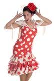 Flamenca andalusian Stock Photography