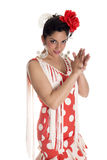 Flamenca clapping Royalty Free Stock Image