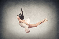 Dancer flying Royalty Free Stock Photos