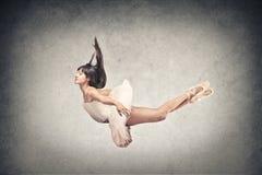 Dancer flying royalty free stock photos
