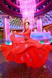 Dancer Galaxy Macau Stock Photo