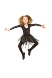 Dancer girl in the air Stock Photo