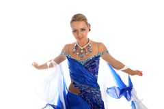 Dancer In Classical Dres Royalty Free Stock Image