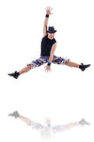 Dancer isolated Royalty Free Stock Photos
