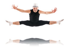 Dancer isolated Stock Photography