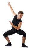 Dancer isolated on  white background Stock Photo