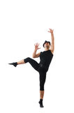 Dancer isolated on  white background Stock Photography
