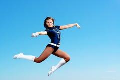 Dancer jumping Stock Photo
