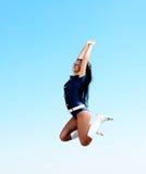 Dancer jumping Royalty Free Stock Photo