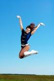 Dancer jumping Royalty Free Stock Photos