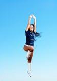 Dancer jumping Stock Photos