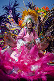 Dancer in Junkanoo in Bahamas Royalty Free Stock Image