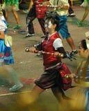 Dancer from Kravings. Chingay Parade 2010 Segment 4: Singapore Samba Stock Image
