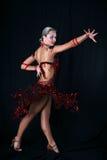 dancer latin Στοκ Εικόνες