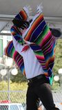 Dancer at the Latino Heritage Festival, Des Moines, Iowa Royalty Free Stock Photography