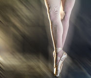 Dancer legs Stock Photography