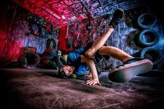 Dancer man Stock Photography