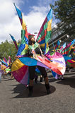 Dancer at the Notting Hill Carnival Royalty Free Stock Photography