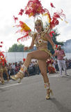 A  dancer at the Notting Hill Carnival 2009 Royalty Free Stock Image