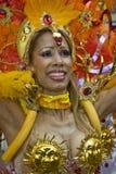 Dancer from the Paraiso School of Samba float Stock Image