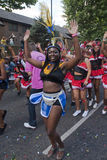Dancer from the Peoples World float Stock Photos