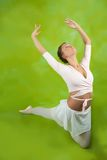 Dancer performing a dance Stock Image