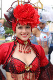 Dancer in Peruvian carnaval Royalty Free Stock Photo