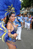 Dancer in Peruvian carnaval Royalty Free Stock Photos