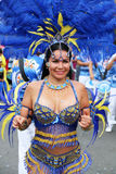 Dancer in Peruvian carnaval Stock Photo