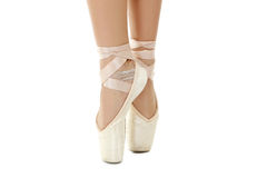 Dancer on pointe Stock Image