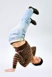 Dancer posing Stock Images
