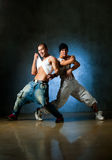 Dancer posing. Stylish and cool breakdance style dancer posing Royalty Free Stock Photography