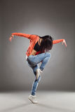 The dancer posing Stock Photo